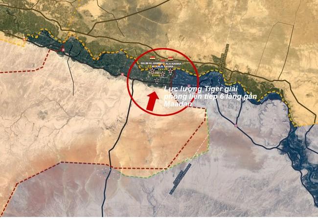 Lực lượng Tiger và Vệ binh Cộng hòa, chiến binh bộ tộc Raqqa giải phóng 6 làng từ IS ở Raqqa