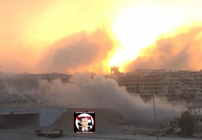 Quân đội Syria pháo kích dữ dội vào khu vực Jobar - Ayn Tarma