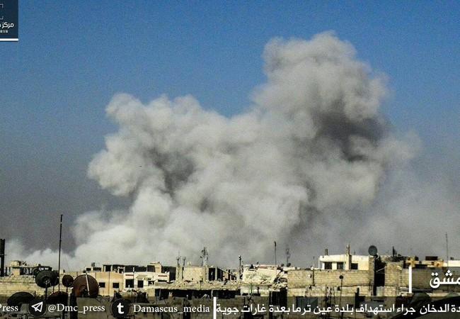 Quân đội Syria tiếp tục pháo kích ác liệt vào quận Jobar, Ayn Tarma thuộc vùng Đông Ghouat