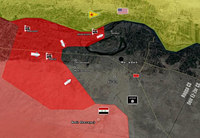 Giải phóng 3 làng liên tiếp, lực lượng Tiger đang hình thành thế bao vây thị trấn Maadan