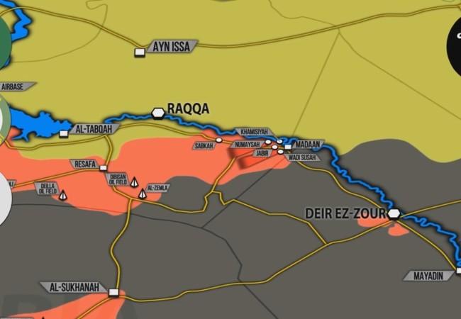 Tổng quan tình hình chiến trường Syria theo South Front tính đến ngày 09.08.2017