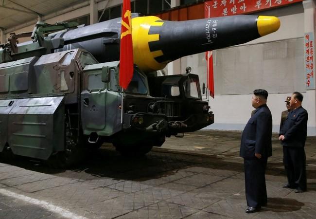 Tên lửa đạn đạo Bắc Triều Tiên (ảnh minh họa Asia Times)