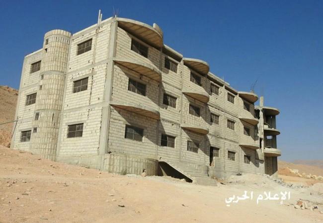 Trung tâm chỉ huy của lực lượng Hồi giáo cực đoan thánh chiến trên vùng biên giới Syria - Lebanon