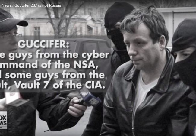 Theo FoxNews, Guccifer 2.0 đến từ chính quyền Mỹ, không phải đến từ Nga