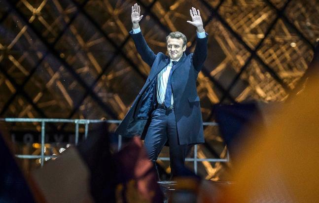Tân Tổng thống Pháp Emmanuel Macron