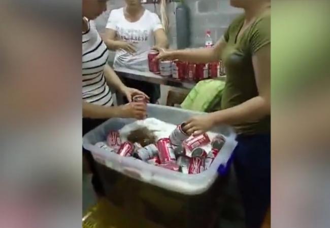 """Hình ảnh """"xưởng sản xuất"""" bia Budweiser dởm"""
