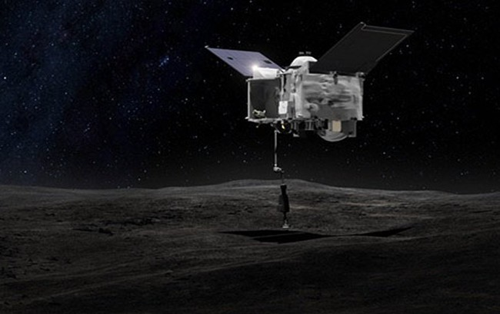 Khai thác khoáng sản trên không gian (Hình: NASA's Goddard Space Flight Center).