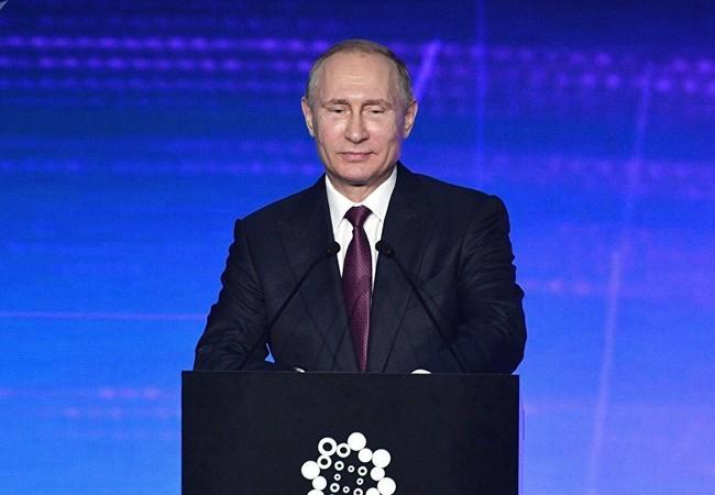 Tổng thống Putin phát biểu tại Lễ khai mạc triển lãm INNOPROM