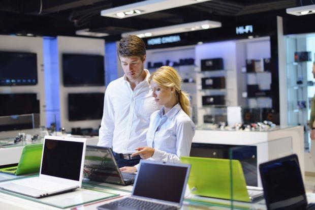 Chỉ có  61,1 triệu máy tính cá nhân được bán ra trên thị trường trong quý II năm nay.AFP Relaxnews