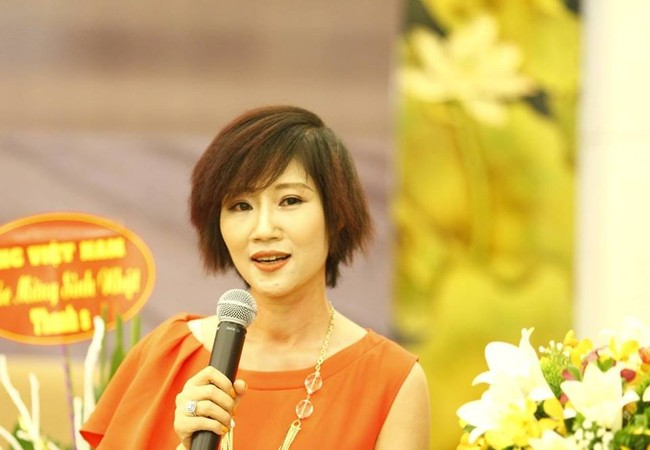 Chuyên gia tư vấn cao cấp chiến lược thương hiệu, bà Đặng Thanh Vân - GĐ công ty Thanhs.