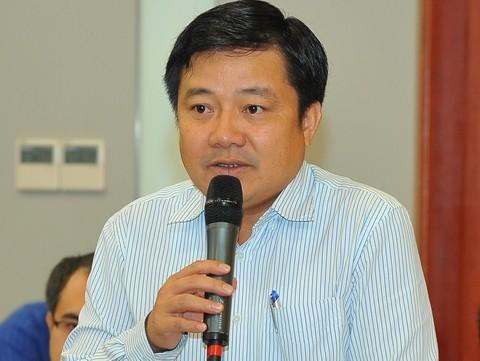 Ông Huỳnh Quang Liêm - Phó Tổng giám đốc VNPT chia sẻ thông tin tại Hội thảo - Giao lưu trực tuyến Giải thưởng Nhân tài Đất Việt 2017 ngày 26/7 vừa qua.