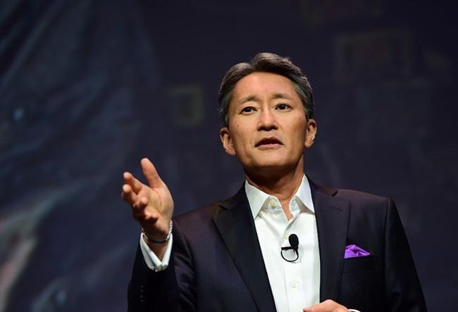 Hoạt động kinh doanh Sony đang đi theo đúng hướng mà Kaz Hirai mong muốn ẢNH: AFP