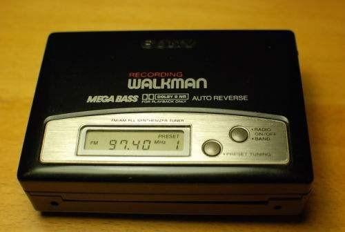 Máy nghe nhạc Walkman