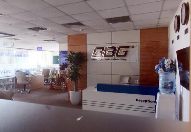 Văn phòng làm việc của công ty cổ phần vàng bạc đá quý BBG tại tòa nhà DG Tower (Hải Phòng) đã ngừng hoạt động - Ảnh (chụp ngày 30-5)