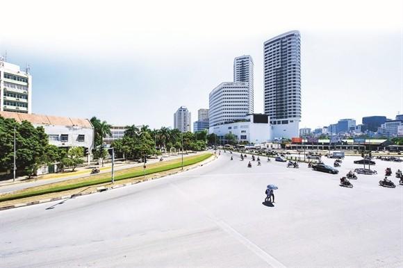 Dự án Indochina PLaza Hanoi nằm trên đường Xuân Thủy, Cầu Giấy, Hà Nội - Ảnh: indochinaplazahanoi.com