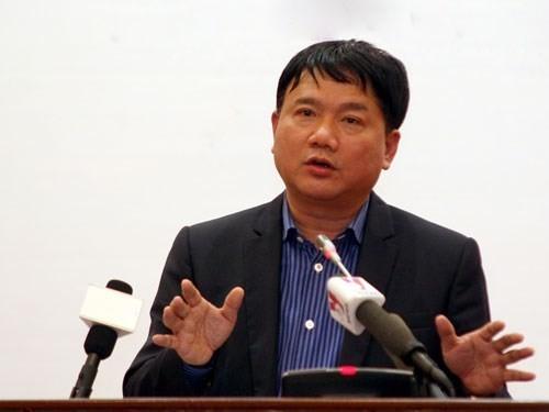 Bộ trưởng Giao thông Vận tải Đinh La Thăng - Ảnh: Ngọc Thắng