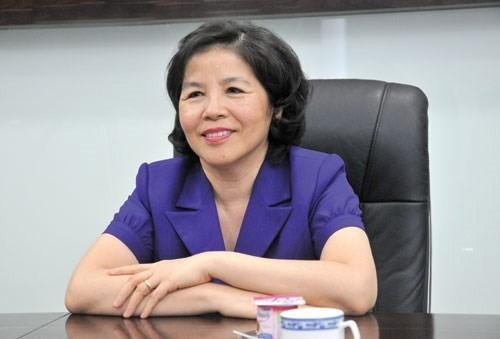 Chủ tịch HĐQT kiêm Tổng giám đốc Công ty cổ phần sữa VN Vinamilk Mai Kiều Liên