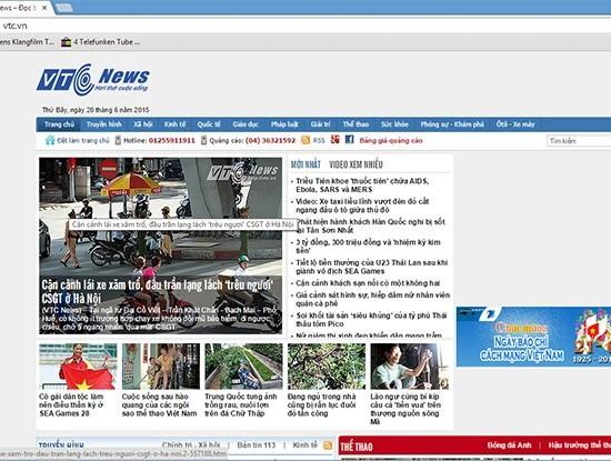 Báo VTC News và Thể thao 24h sẽ cùng Đài VTC về VOV