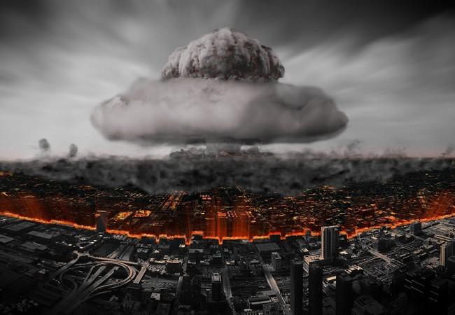 Đụng độ Nga - Mỹ rất dễ leo thang thành chiến tranh hạt nhân toàn diện (ảnh cảnh báo minh họa).