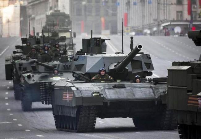 Xe tăng chiến đấu T-14 Amarta Nga (ảnh tư liệu)