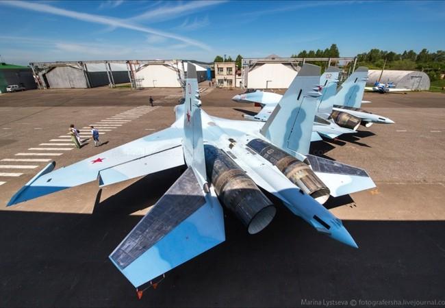 Máy bay chiến đấu Su-35 của Quân đội Nga (ảnh tư liệu)