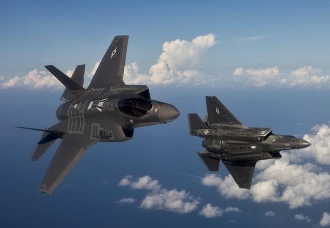 Chiến cơ F-35 do Mỹ sản xuất.
