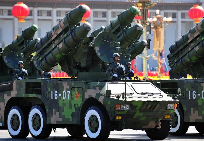 Lực lượng tên lửa của Trung Quốc (ảnh minh họa)
