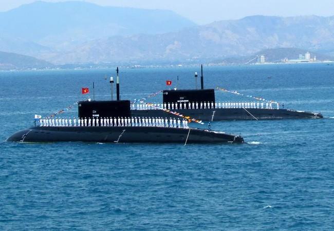 Lực lượng tàu ngầm của Hải quân Việt Nam (ảnh tư liệu)