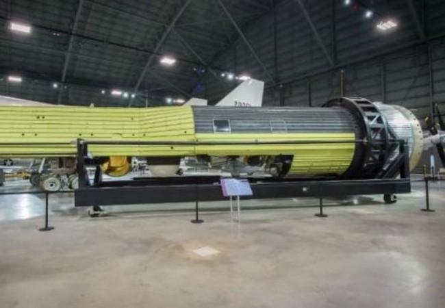 Vệ tinh giáp điệp trong bảo tàng quốc gia Không quân Mỹ. Ảnh: Cankao