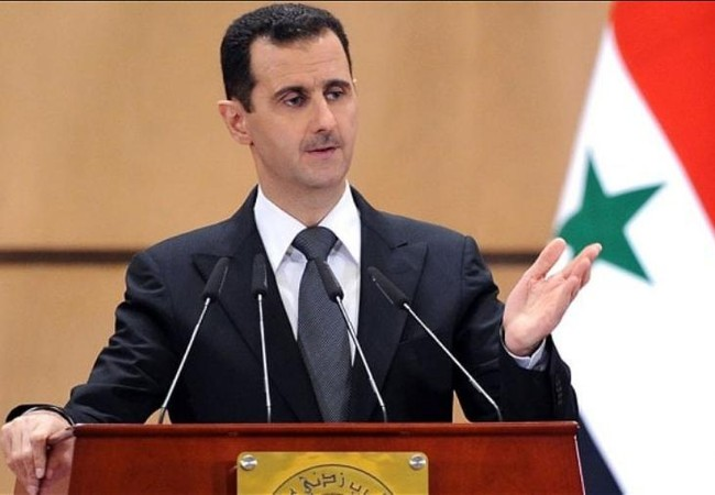Tổng thống Syria Bashar al-Assad. Ảnh: The Telegraph