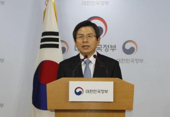 Quyền Tổng thống Hàn Quốc Hwang Kyo-ahn muốn đẩy nhanh triển khai hệ thống THAAD. Ảnh: Cankao