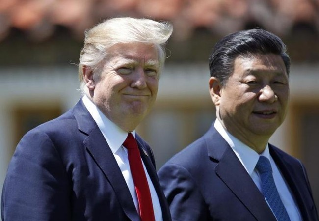 """Trong cuộc gặp từ ngày 6 - 7/4/2017 tại bang Florida Mỹ giữa Tổng thống Mỹ Donald Trump và Chủ tịch Trung Quốc Tập Cận Bình, dư luận cho rằng Trung Quốc và Mỹ đã có nhiều """"thỏa hiệp"""" với nhau. Ảnh: Washington Times"""