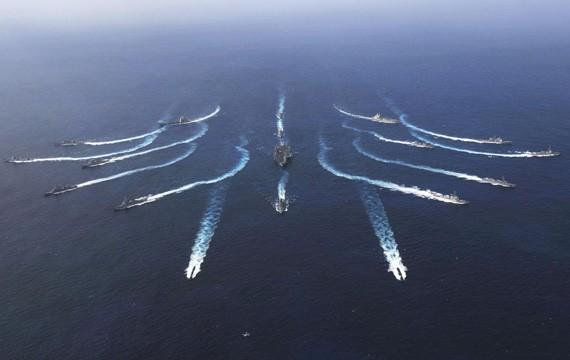 Hải quân Mỹ tiến hành tập trận (ảnh tư liệu)