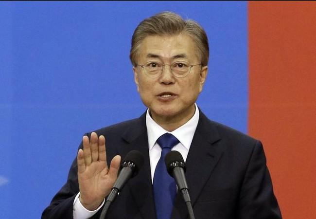 Tân Tổng thống Hàn Quốc Moon Jae -in