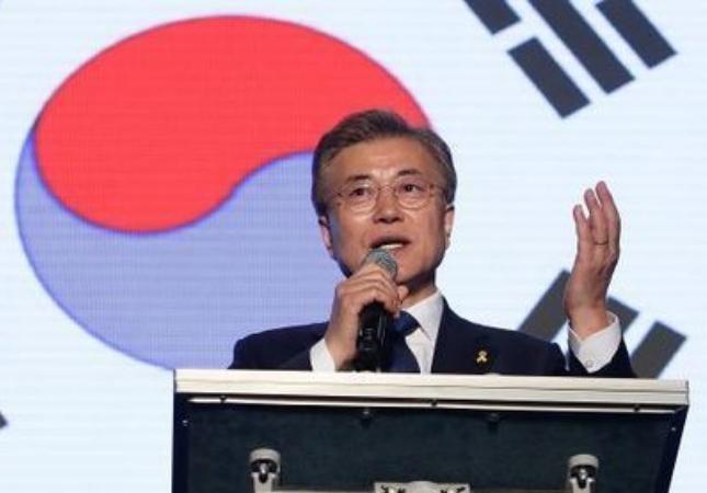 Tân Tổng thống Hàn Quốc Moon Jae -  in