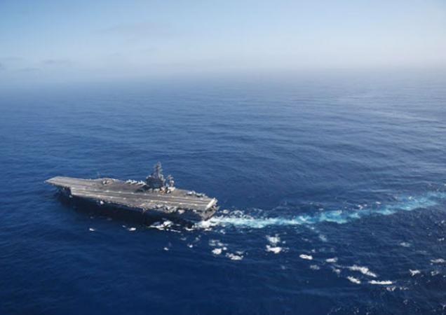 Tàu sân bay USS Nimitz, một trong những tàu chiến lớn nhất thế giới