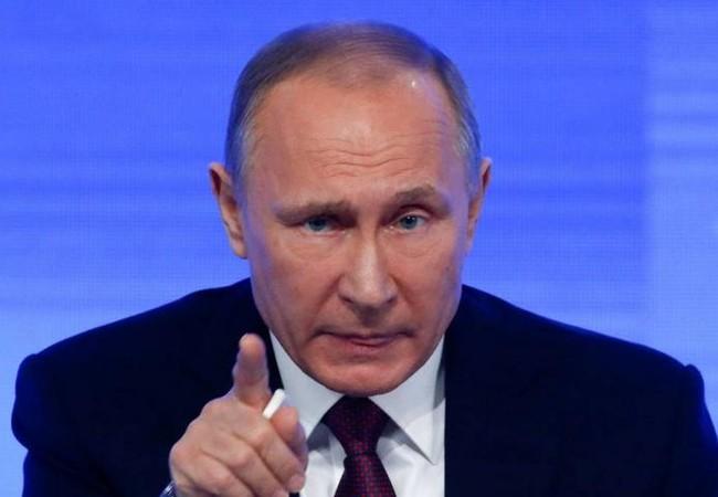 Tổng thống Nga Vladimir Putin. Ảnh: The Japan Times