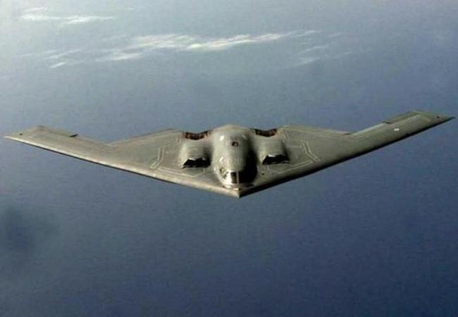 Máy bay ném bom chiến lược tàng hình B-2 Không quân Mỹ. Ảnh: Cankao