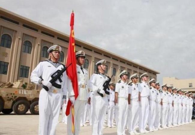 Ngày 1/8/2017, Trung Quốc bắt đầu sử dụng căn cứ hải quân đầu tiên ở nước ngoài tại Djibouti. Ảnh: Sina