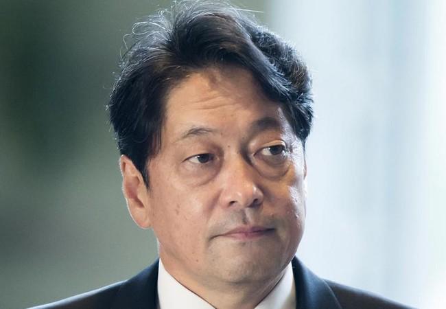 Ông Itsunori Onodera quay trở lại làm Bộ trưởng Quốc phòng Nhật Bản sau cuộc cải tổ nội các Nhật Bản ngày 3/8/2017. Ảnh: The Straits Times.