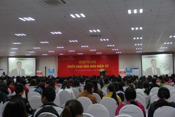 Cục thuế Hà Nội triển khai giới thiệu Hóa đơn điện tử cho các doanh nghiệp trên địa bàn.