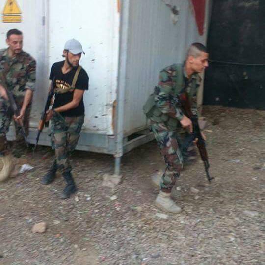 Binh sĩ quân đội Syria trên chiến trường Đông Ghouta, Damascus