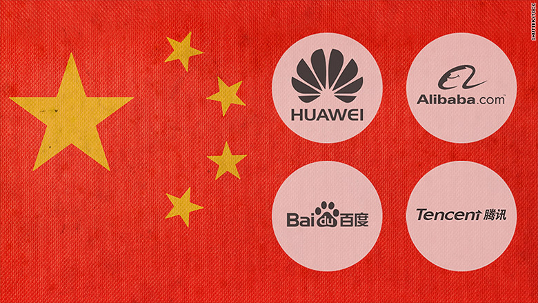 Logo một số công ty công nghệ Trung Quốc