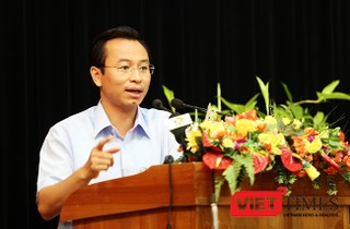 Bí thư Thành ủy Đà Nẵng Nguyễn Xuân Anh một lần nữa khẳng định sẽ làm hầm chui qua sông Hàn và bắt đầu khởi công vào năm 2018.