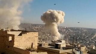 Không quân Nga tấn công vào các mục tiêu khủng bố thánh chiến ở Aleppo