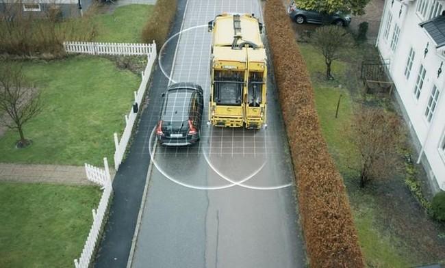 Volvo giới thiệu nguyên mẫu xe tự lái chuyên... gom rác - ảnh 1