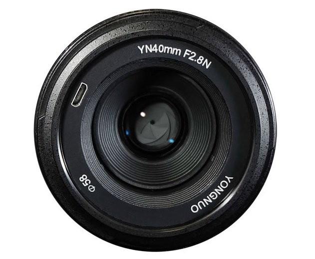 Hé lộ hai ống kính Yongnuo 40mm f/2.8 và 100mm f/2 cho DSLR Nikon - ảnh 3