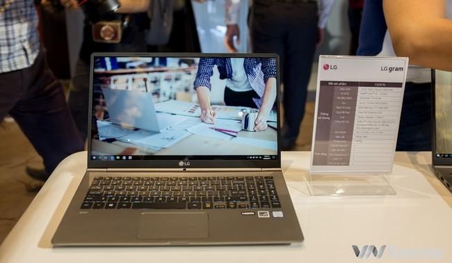 LG chính thức gia nhập thị trường laptop Việt nam với dòng LG gram mỏng nhẹ - ảnh 3
