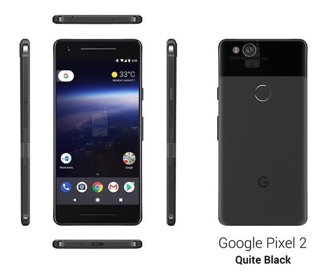 """Ngắm """"bom tấn"""" Google Pixel 2 đủ màu sắc dưới mọi góc độ - ảnh 1"""
