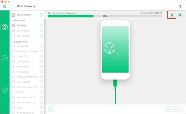 Khôi phục dữ liệu đã mất trên iPhone/iPad với phần mềm iOS Data Recovery - ảnh 3